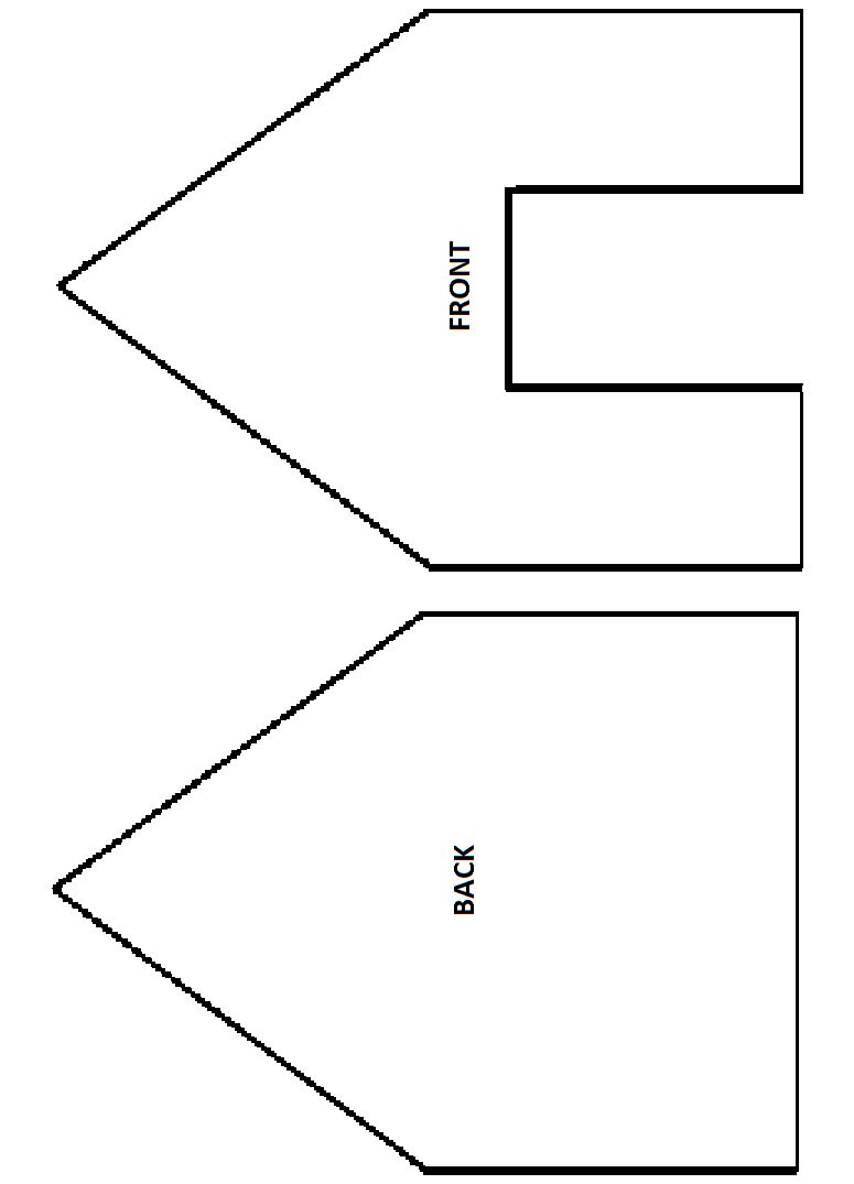 It is a photo of Zany Gingerbread House Templates Printable