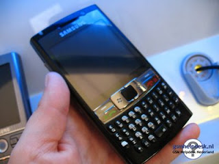 Samsung i780 qwert touch phone with windows mobile OS