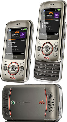 Sony Ericsson W395 latest music phone with special music keys