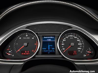 Audi Q7 2009 model sports car