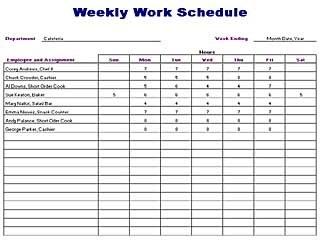 job interview schedule template .