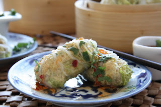 This Week's Recipe: Asian Chicken and Cabbage Parcels