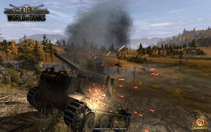 Здоровенный обзор World Of Tanks Blitz для iPhone и iPad. wow онлайн игру с