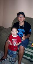 Meu filho amado Wesley e o meu pequenino sobrinho João Fellipe.