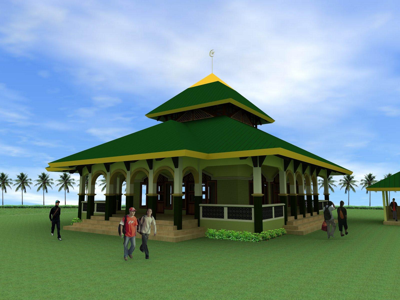 Desain Masjid Terindah …