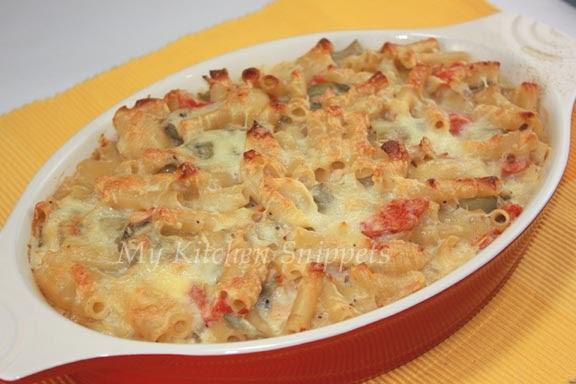 My Kitchen Snippets: Baked Pasta Casserole