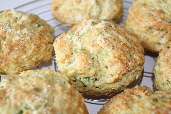My Kitchen Snippets: Homemade Herb Biscuits