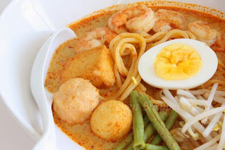 how to make laksa curry