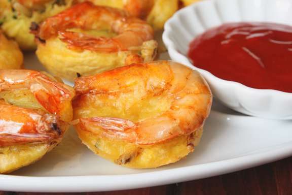 Diary Foods: Prawn Fritter/Cucur Udang Recipes