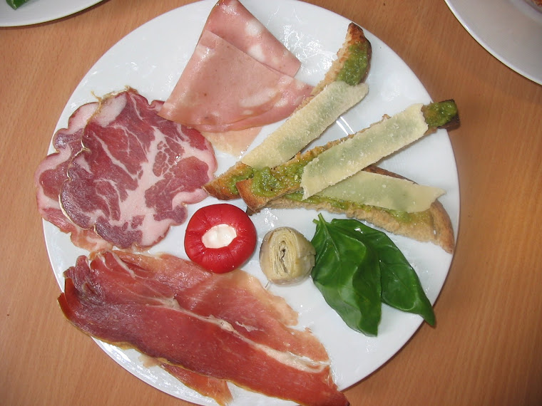Antipasti, ou Hors d'Ouvres