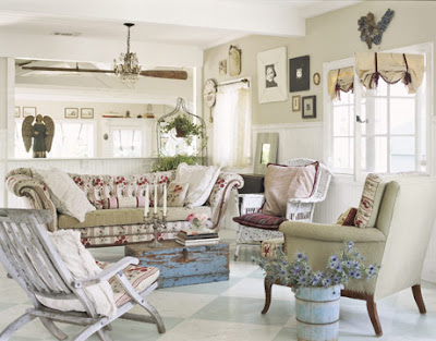 Beach Cottage Style: Pretty Beach Decor Ideas
