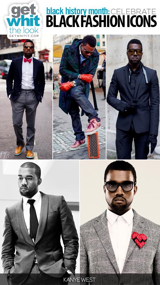 kanye west fashion icon. Black Fashion Icon: Kanye West