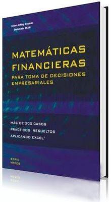 Libro Matematicas financieras para la Toma de Decisiones empresariales