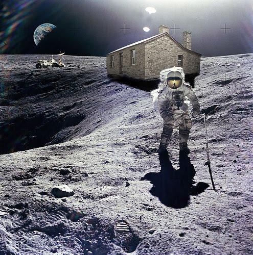 Venden terrenos en la luna