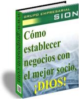 Libro Como establecer negocios con el mejor socio,  Dios