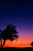 As estrelas, a lua...