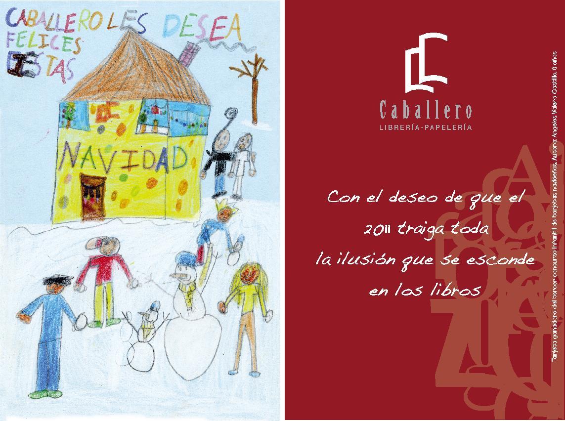 Tarjeta ganadora del iii concurso de tarjetas navide as - Tarjetas de navidad hechas por ninos ...