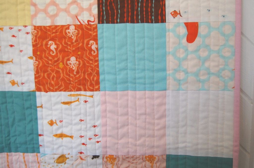 Kate Conklin Designs: Straight line quilting