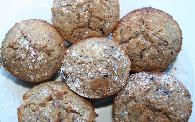 Grain Crazy: Mixed Berry Muffins