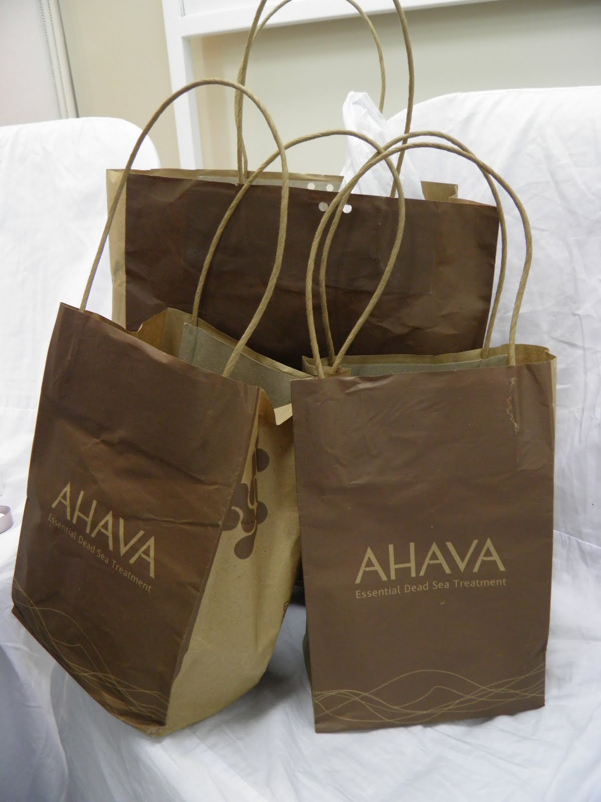 You can go to www.ahava.com.au