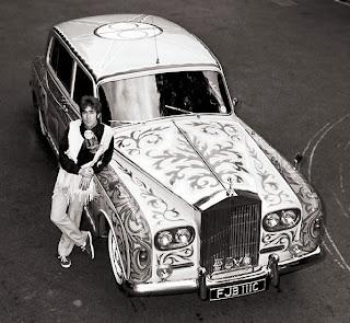 john lennon's gypsy caravan & rolls royce: john lennon's rolls royce