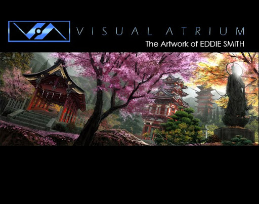 Visualatrium - The Artwork Of Eddie Smith
