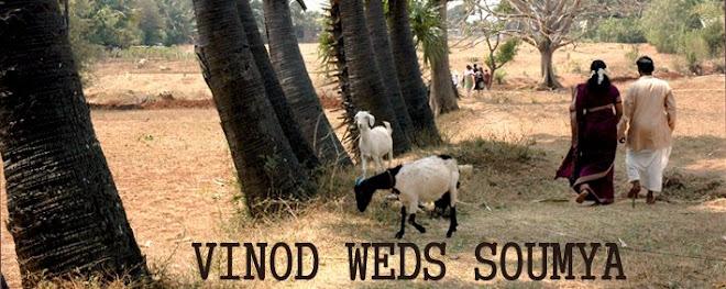Vinod weds Soumya