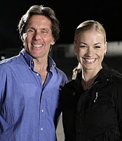 Gary Cole and Yvonne Strahovski