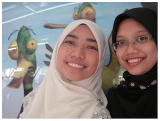 Cik Dayat and I (and crazy ducks!)