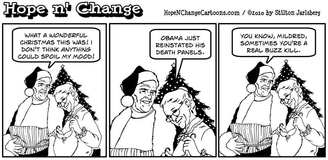 Obama reinstitutes his death panels by declaring old people to be leftovers, hope n' change, hope and change, hopenchange, stilton jarlsberg