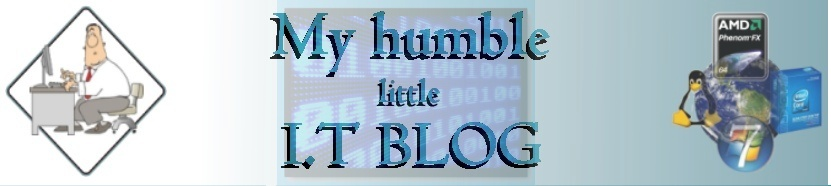Humble Little I.T. Blog