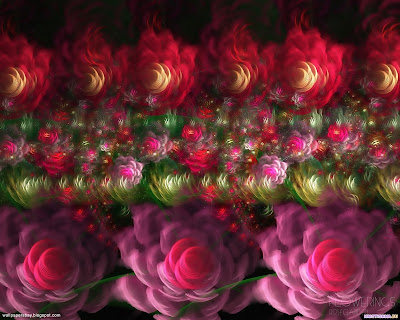 wallpaper hd 3d. HD 3D Flowers desktop