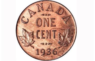 Canada rare penny