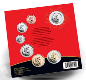 Merry Christmas Coin Gift Set for the year 2009