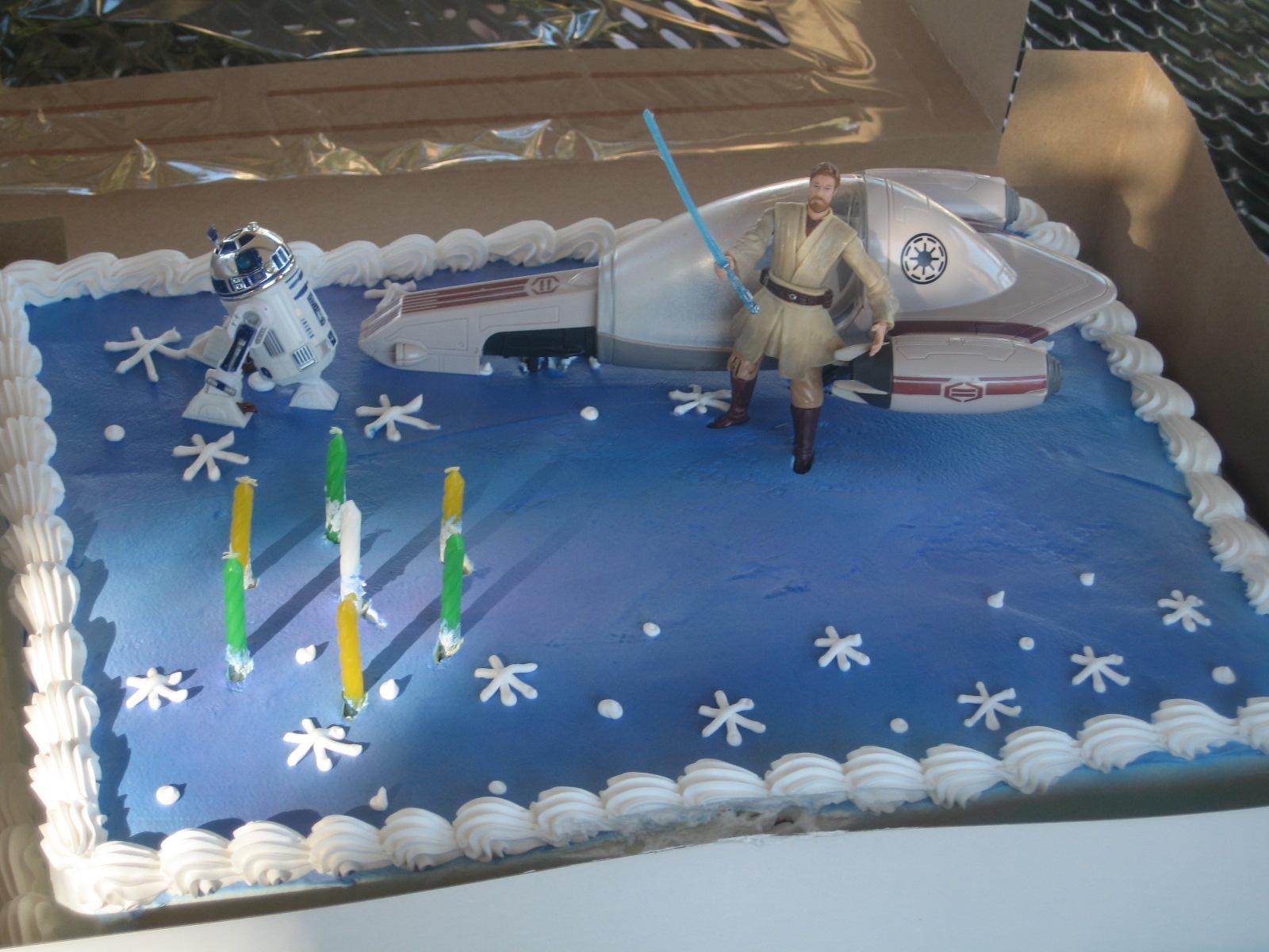 Cookie Nut Creations Star Wars Birthday Ideas