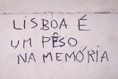 Lisboa es un peso en la memoria