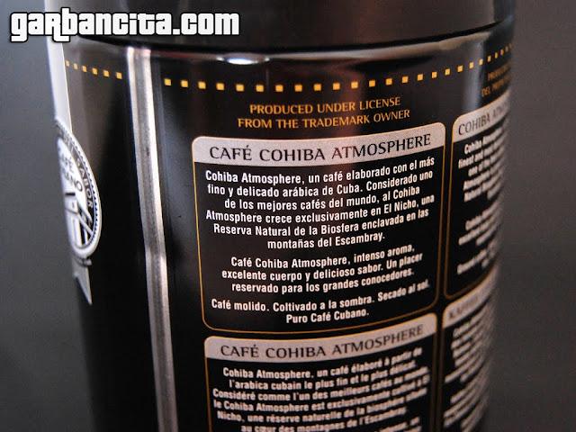 Café Cohiba de Cuba