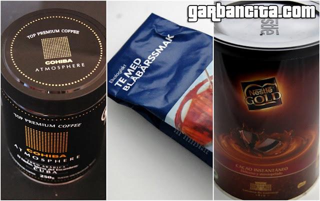 Café Cohiba - Infusión Ikea Food - Nestlé Gold cacao instantáneo