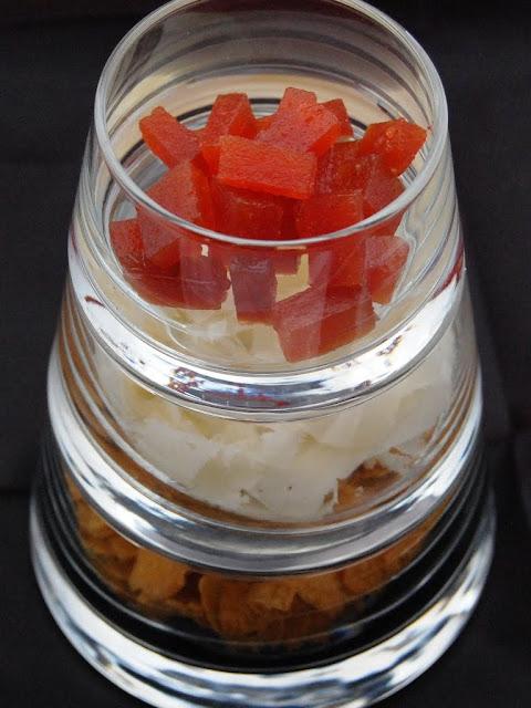 Ensalada de Cornflakes con Idiazábal y dulce de membrillo
