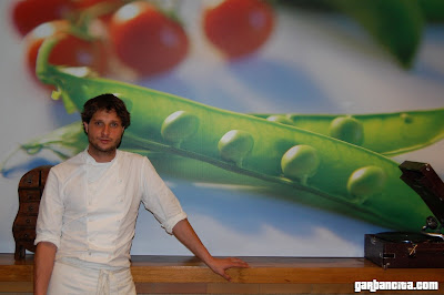 El cocinero Asís Villalobos