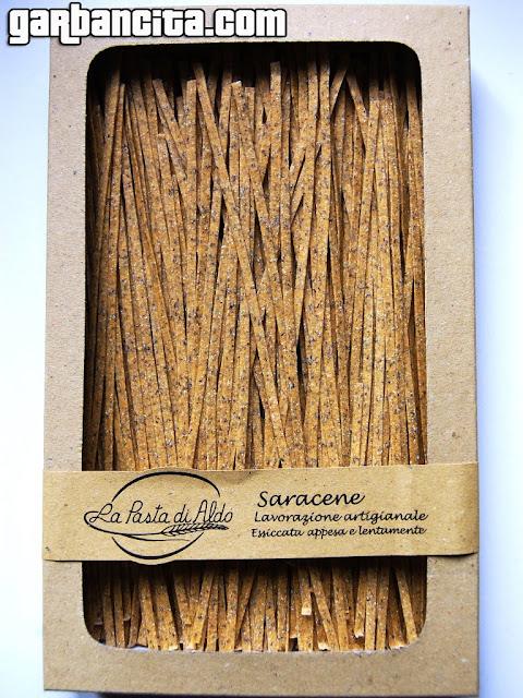 Tagliatelle de trigo sarraceno