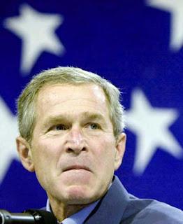 Bush showing his true colors