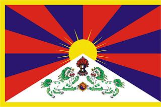The Tibetan flag