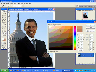 Barack Obama in Photoshop