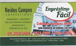 NEIDES CAMPOS IMÓVEIS - FONES 64 - 3455-5976