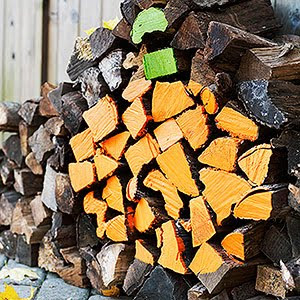 Billings mom 39 s super simple pumpkin crafts for your home for Woodpile fun craft ideas