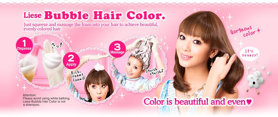 ... fugly hair and by doing a quick review on liese bubble hair color too