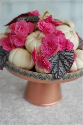 DIY Pumpkin Wedding Centerpiece