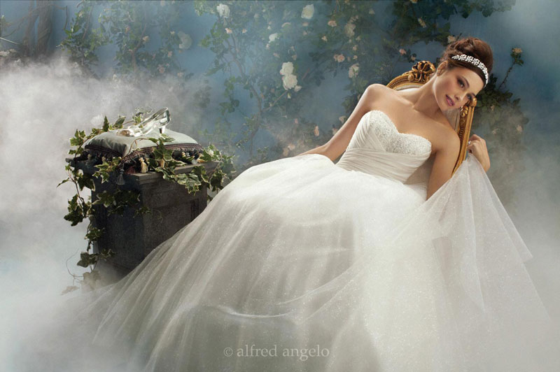 Disney Fairy Tale Wedding Dresses by Alfred Angelo