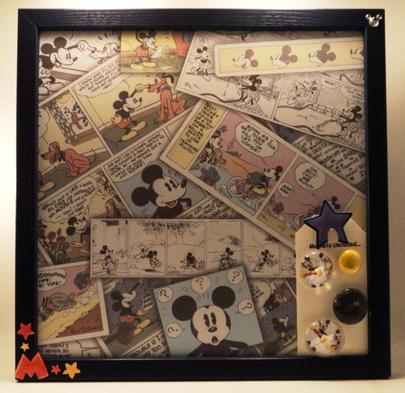 Best Ceremony or Reception Decor Mickey Mouse Magnetic Memo Board